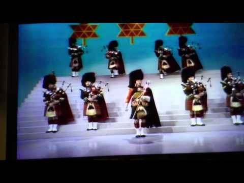 Black Watch Pipes And Drums.  Ed Sullivan Show.