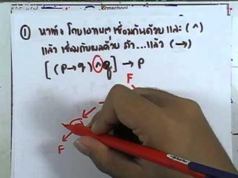 เลขกระทรวง เพิ่มเติม ม.4-6 เล่ม1 : แบบฝึกหัด1.7 ตอน2 ข้อ1-6
