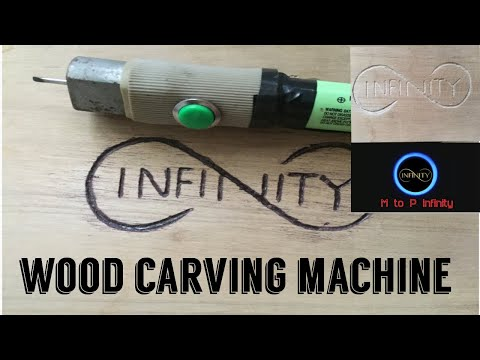 How to make wood carving machine