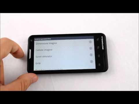 Motorola Motoluxe Configurare camera