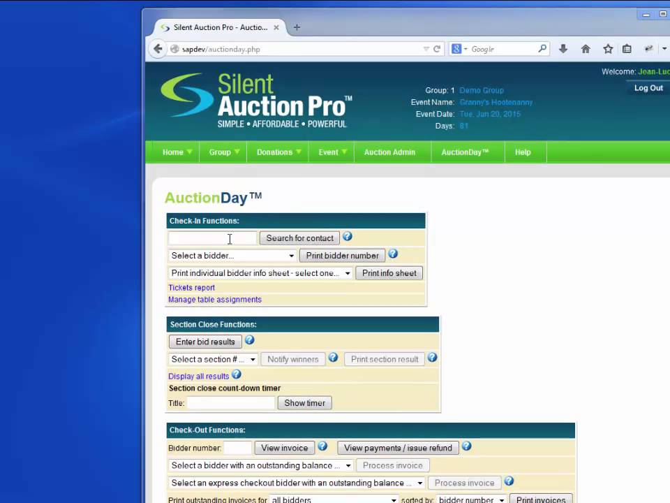 Streamlining Event Check-In with Silent Auction Pro - YouTube - silent auction app free