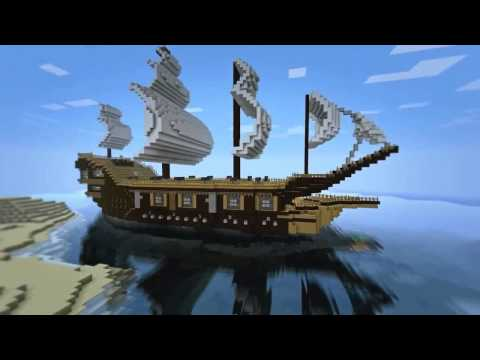 comment construire bateau minecraft. Black Bedroom Furniture Sets. Home Design Ideas