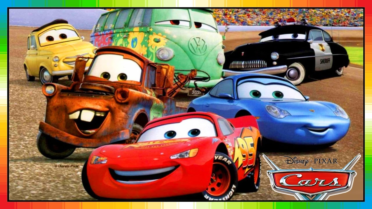 Cars 1 lighning mcqueen the cars part 1 mack disney pixar accidents mater toons - Image cars disney ...