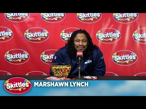 Skittles Marshawn Lynch Press Conference video
