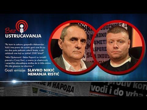 BEZ USTRUČAVANJA: Tajne albanske mafije - Slavko Nikić i Nemanja Ristić