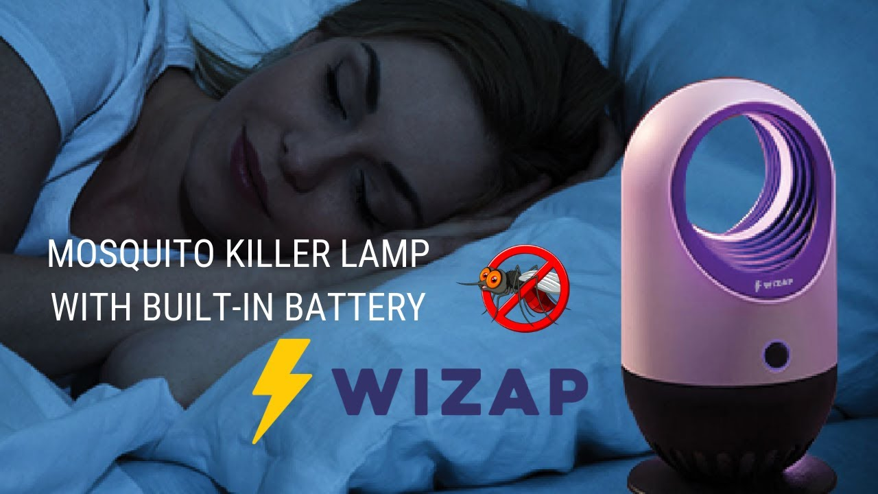 Mosquito Killer Lamp W/ Built-In Battery video thumbnail