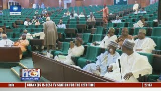 Lawmakers Grumble Over Stoppage Of Discussion On Buhari's Letter Pt.1 11/12/18 |News@10|