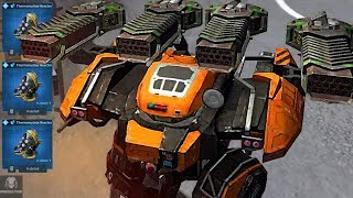 Download Video Dropping The Thunder Behemoth War Machine Into The Enemy Spawn - Pure Destruction | War Robots MP3 3GP MP4