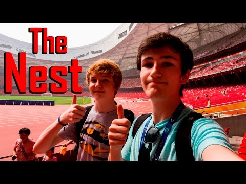 Vlogging at the Nest! (Beijing 2008 Olympic Stadium)