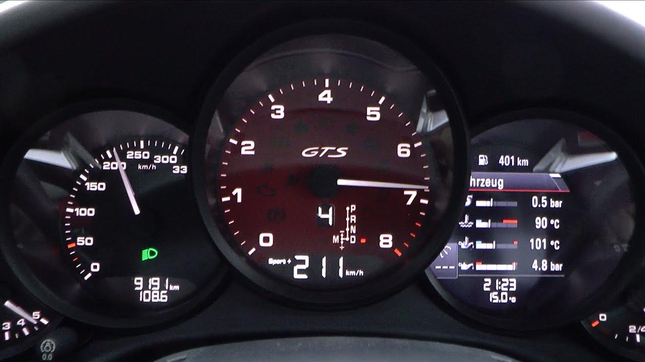 2017 Porsche 911 Carerra 4 Gts 991 2 450 Hp 0 100 Km H Mph 200 Acceleration