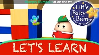Humpty Dumpty | Learn with Little Baby Bum | Nursery Rhymes for Babies | Songs for Kids
