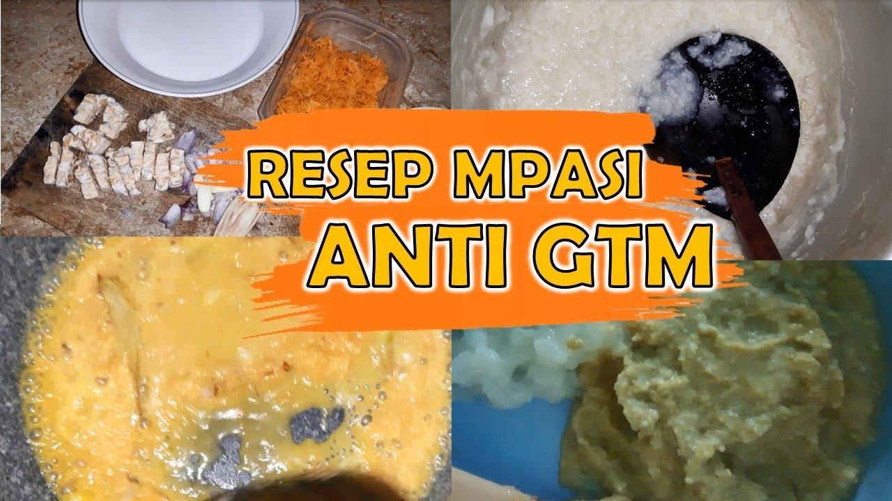 Resep Mpasi 9 Bulan Pertama Tekstur Kasar Stimulasi Tumbuh Gigi Anak Youtube