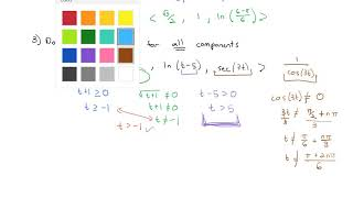 3.1 Vector-Valued Functions and Space Curves