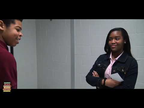"""Chester Middle School Black History Program, """"To Be Young, Gifted, and Black"""" (Part 4)"""