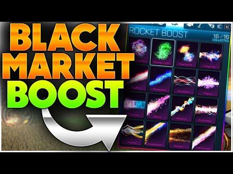 If Boosts Were Black Markets | INSANE BOOST CONCEPTS | Black Market Boosts In Rocket League!