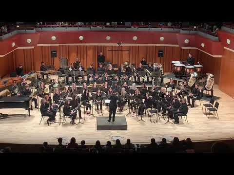 UGA Wind Symphony Performs Kingfishers Catch Fire