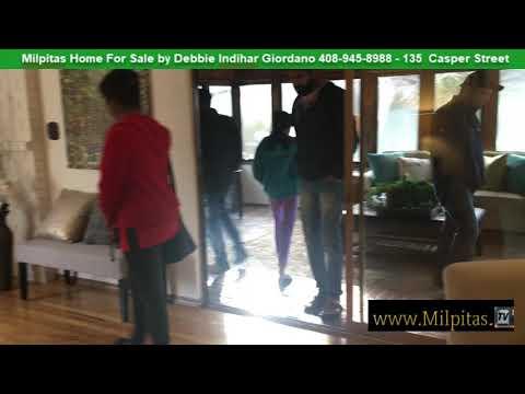 Milpitas Home For Sale 135 Casper Street