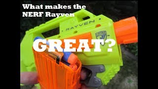 What makes the Rayven great?