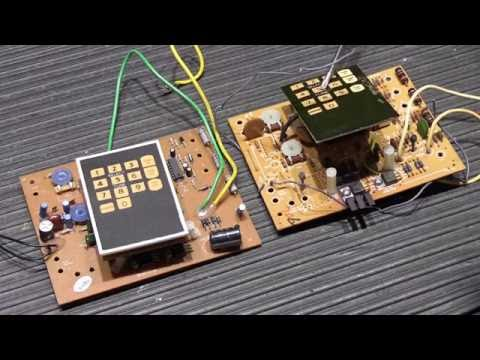 NuTone LB55 Electronic Musical Door Chime - Differences Between Early and Late Circuit Boards