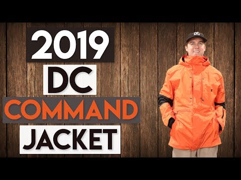2019 DC Command Snowboard Jacket Review