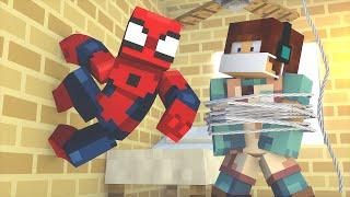 Minecraft: CIRURGIA NO HOMEM ARANHA - (Cirurgia Minecraft)