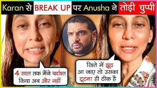 Anusha Dandekar ANGRY Reaction On Her BREAK UP With Karan Kundra & TROLLERS