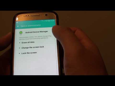 Samsung Galaxy S7 How To Enable Disable Android Device Manager