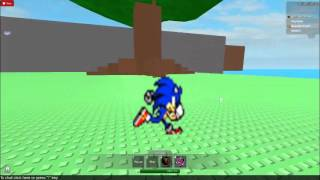 ROBLOX SEGA SONIC RACING AT THE SPEED OF SOUND