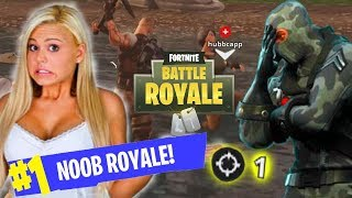GETTING A GIRL FROM TINDER 1 ELIMINATION ON FORTNITE - CARRYING A GIRL ON FORTNITE
