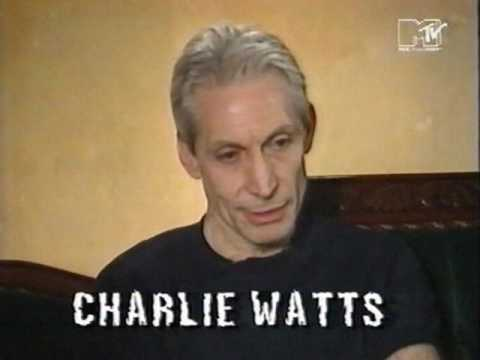 The Rolling Stones - Charlie Watts interview (MTV 1994)