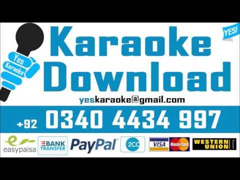 Saawan Ke Jhoolon Ne - Karaoke - Nigahein - Mohammad Aziz - YES Karaoke