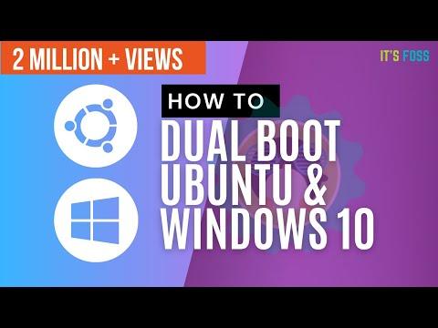 how-to-dual-boot-ubuntu-18.04-and-windows-10-[2019]