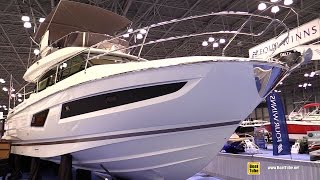2015 Prestige 420 Motor Yacht - Interior Walkaround - 2015 New York Boat Show
