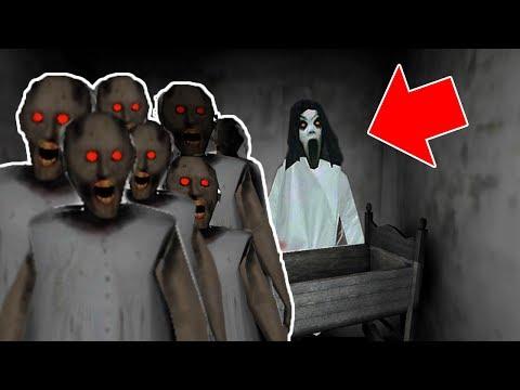 Slendrina vs 200 Granny Clones in Granny Horror Game (NEW MOD FOR GRANNY HORROR GAME) - Как поздравить с Днем Рождения