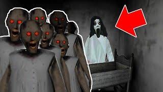 Slendrina vs 200 Granny Clones in Granny Horror Game (NEW MOD FOR GRANNY HORROR GAME)