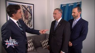 Senator Tim Kaine Has A New Assistant by : The Late Show with Stephen Colbert