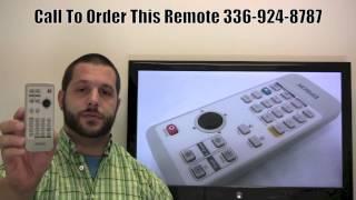 Epson 129175401 Remote Control - www.ReplacementRemotes.com
