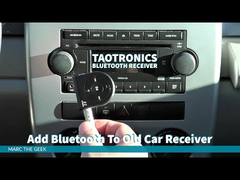 Add Bluetooth To Old Car Receiver with TaoTronics