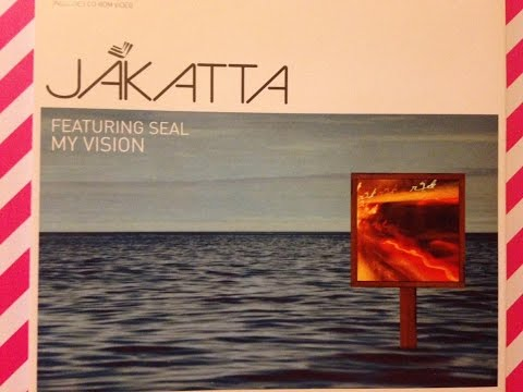 JAKATTA CD FEATURING SEAL MY VISION unboxing