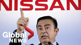 Ex-Nissan boss escapes Japan amid fraud charges