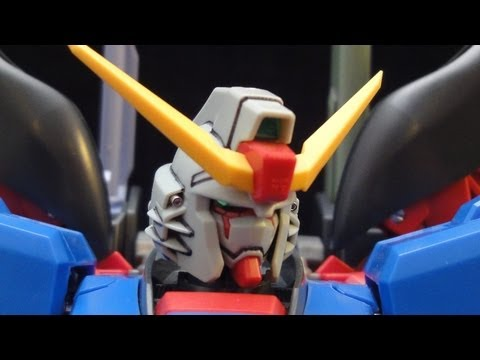 MG Destiny Gundam (Part 1: Intro) Extreme Blast Mode: Seed Destiny gunpla review