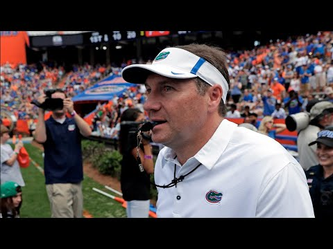 Dan Mullen's First Game as Head Coach of the Florida Gators