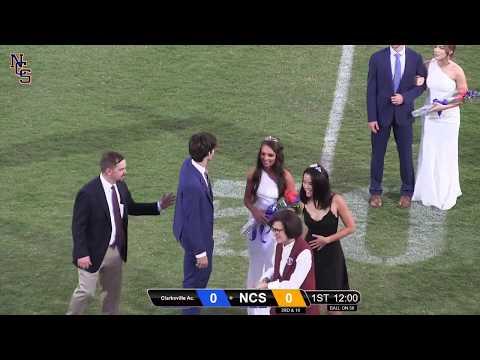 Eagles Football vs Clarksville Academy (1st half)