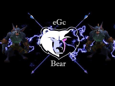 eGc Bear goes Warwick in the jungle