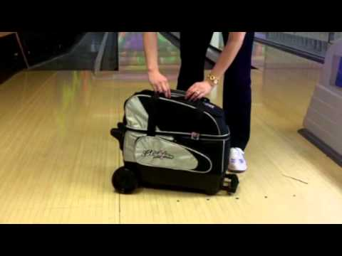 29a4d2385117 KR Strikeforce Cruiser Double Roller Bowling Bag Review - YouTube
