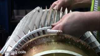 HiTRAX Traction Motor Armature Rewind Process - Houghton International