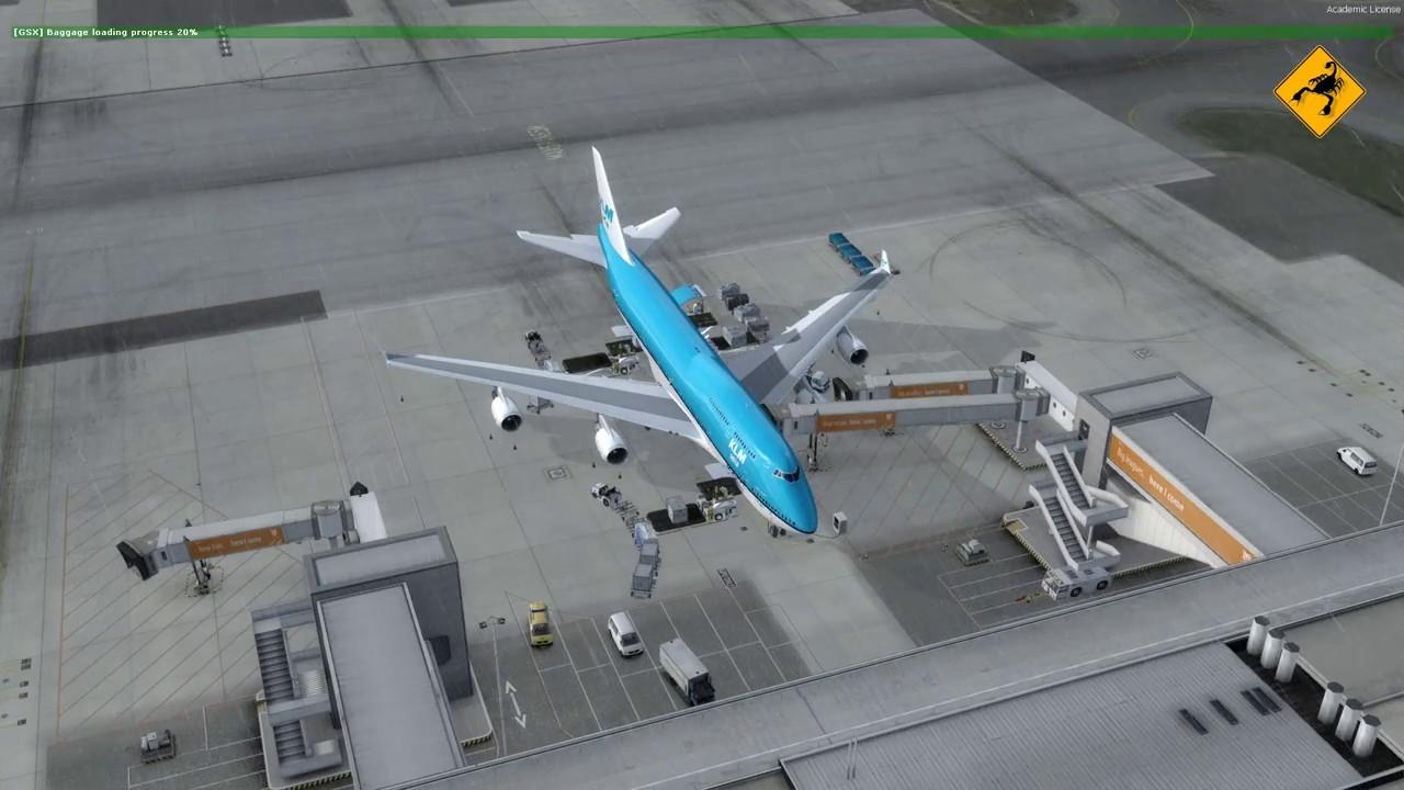 P3Dv4 + PMDG 747 teszt | 1080p@60fps - FlightSim Planet