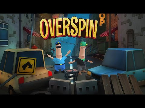Overspin: Night Run – 3D double runner 1