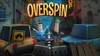 Overspin: Night Run - 3D double runner