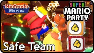 Super Mario Party: Gold Rush Mine (Safe Team, 2 Players, 20 Turns, Master Difficulty)